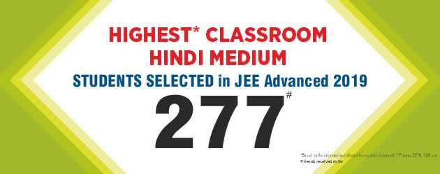 JEE-Advanced-2019 Result Hindi Medium